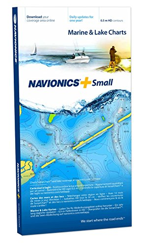 Navionics Seekarten (Navionics Plus SMALL Marine & Lake Charts on SD/MSD)