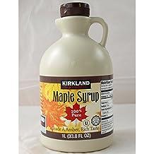 Kirkland Signature Canadian Maple Syrup - 1L - Grade A Dsrk Amber