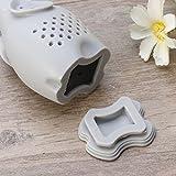 OUNONA Silikon-Tee-Filter / Tee-Ei / Tee-Filter / Tee-Handschuhe Kräuter-Spice-Filter-Diffusor (grau) Test