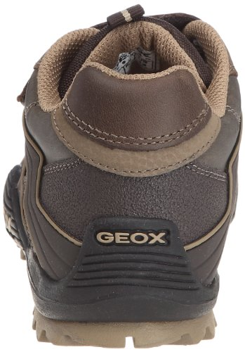 Geox J SAVAGE D  Jungen Halbschuhe Marron/beige (C0021)