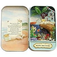 Preisvergleich für 3D DIY Theater Box Miniatur LED Box Haus für Kinder Mädchen Spielzeug Mini Secret World in der Dose
