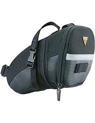 Topeak Aero Wedge - Bolsas para sillín de bicicleta With Straps Talla:Micro (0.41 Litre)