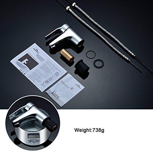 Auralum® Eleganter Einhebel Wasserhahn - 6