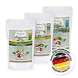 AniForte 100% Natur Trockenfutter Probierpaket 3 x 500g Hundefutter Getreidefrei - Lachs und Ente, Huhn und Ente, Lamm und Huhn- Adult Futter - OHNE Chemie, OHNE künstliche Zusatzstoffe oder Vitamine