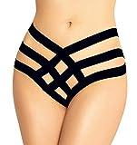 marysgift Damen Reizvolle Wäsche durchsichtige Tanga Schlüpfer Erotik Unterwäsche Bandage G-String M