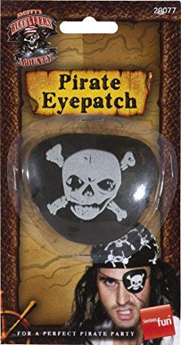 (Smiffys - Augenklappe Pirat Piratenklappe Piraten Seeräuber)