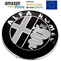 IGGY Escudo Fregio Emblema Logo Alfa Romeo 74mm 145146147156159Giulietta Mito