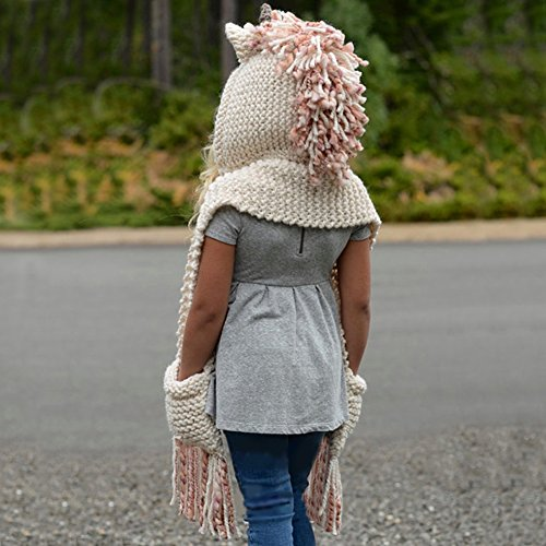 0afdb8111e8 Vandot Winter Warm Exclusive Cute Unicorn Hat Kids Baby Girls Boys ...