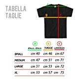 LaMAGLIERIA T-Shirt Homme Bruce Springsteen T-Shirt 100% Coton