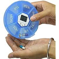 Case von Saiko Automatische Medikamenteneinnahme 4Raster Intelligente elektronische Pillen Aufbewahrungsbox Pille... preisvergleich bei billige-tabletten.eu