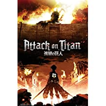 GB eye, Attack on Titan, Key Art  Maxi Poster, 61x91.5cm