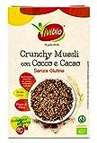 Vivibio Crunchy Bio Avena con Cocco e Cacao senza Glutine - 250 gr