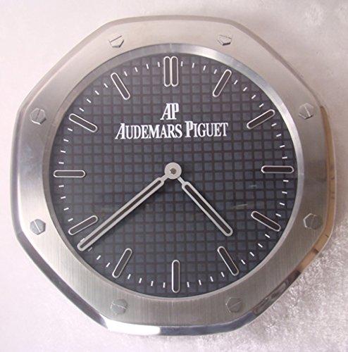 audemars-piguet-silent-sweep-wall-clock-silver-black