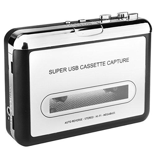 DigitNow! Kassette zu MP3 Konvertierer und Player mit PC, tragbarer USB Kassettenspieler to MP3 converter Test