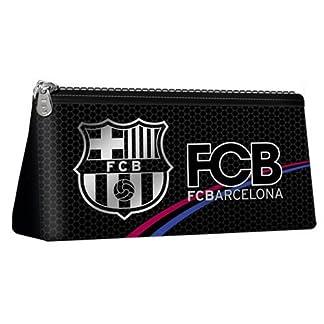 Karactermania 35319 FC Barcelona Silver Bolsa de Aseo, 23 cm, Plateado