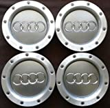 REPLACEMENT PART: Set 4 pcs AUDI A3 A4 A2 TT WHEEL CENTER CAPS RIM HUB CAP 146mm 8D0601165K by Replacement