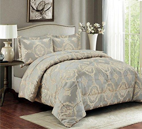 3 Teilige XL Moderne Doppelbett Bettgarnitur 230x250cm Tagesdecke Mit  Kissenbezug Bettüberwurf Bett Decke + Kissenbezüge Patchwork + Kissen Bezug  3 Teile ...