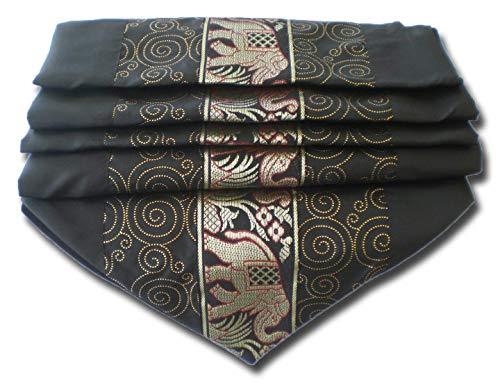 61/x 30/cm 61/x 30/x 30/cm Noir Garcia de Pou Tablier Court avec 3/Poches Polyester