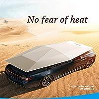 Paraguas del coche, cubierta del coche, carpa del coche paraguas semi-automático del