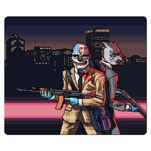 26x21cm-10x8inch-gaming-mousepad-rubber-cloth-rough-durability-payday-2