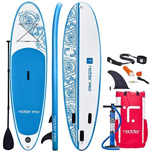 redder Tablas Paddle Surf Hinchables Vortex Pro 10' All Round Tabla Stand...