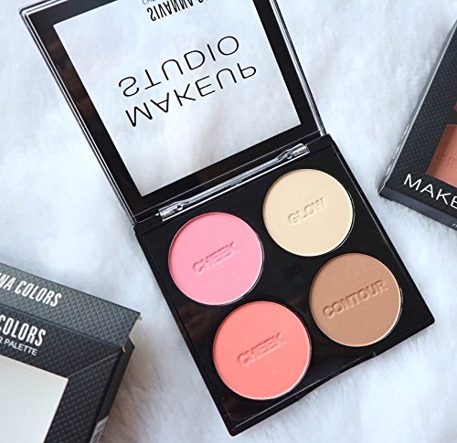 Sivanna Colors Cheek & Contour Palette (01)
