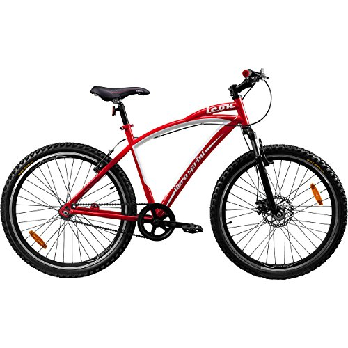 Hero Sprint 26T Icon Single speed Adult Cycle (Red)