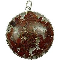 HARMONIZE Red Jasper Orgon Disc AnhŠnger Reiki Kristall Chakra Balancing Therapie Spirituelle Geschenk preisvergleich bei billige-tabletten.eu