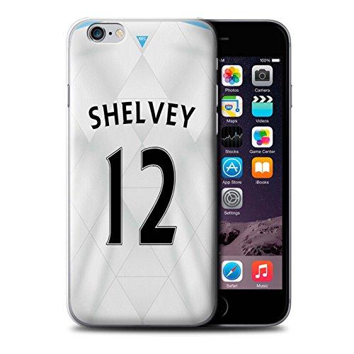 Offiziell Newcastle United FC Hülle / Case für Apple iPhone 6S / Lascelles Muster / NUFC Trikot Away 15/16 Kollektion Shelvey