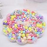NBVFGHD Kinder Puzzle handgemachte Perlen, Übung Kinder praktische Fähigkeit kognitive Fähigkeit, geeignet (Helle Farbe Maca)