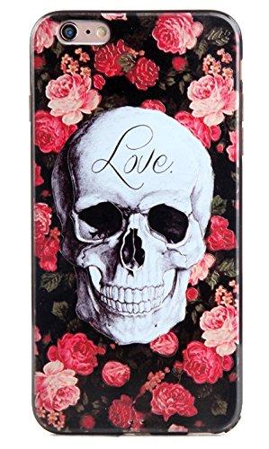 Voguecase® für Apple iPhone 7 4.7 hülle, Schutzhülle / Case / Cover / Hülle / TPU Gel Skin (Mathematik Formel 01) + Gratis Universal Eingabestift Blume Schädel 05