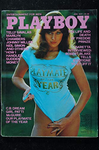 PLAYBOY Us 1977 06 JUNE N° 43 COVER PATTI McGUIRE PLAYMATE OF THE YEAR Virve Reid BARBARA BACH INTERVIEW Robert Blake