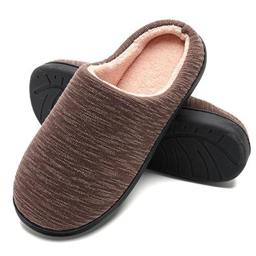 FLY HAWK Hausschuhe Herren Damen Winter Pantoffeln Drinnen Warme Bequem Plüsch Slippers Rutschfeste Kuschelig Haus Schuhe Größe 36,37,38,39,40,41,42,43,44,45,46,47