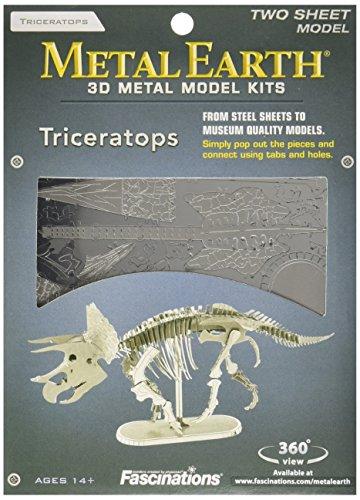 Metal Earth - Maqueta metálica Dinosaurios Esqueleto Triceratops