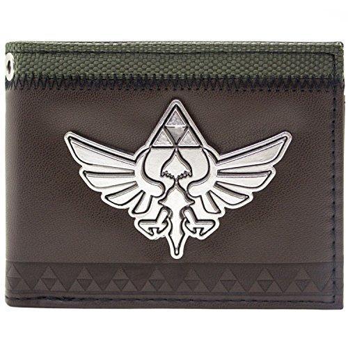 Nintendo Legend of Zelda Skyward Sword Braun Portemonnaie Geldbörse (Link Skyward Sword Kostüm)