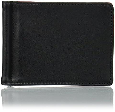 Troika - Porte-Cartes de Crédit en Cuir + Pince à Billet en Métal - RED PEPPER