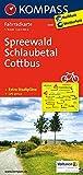 KOMPASS Fahrradkarte Spreewald - Schlaubetal - Cottbus: Fahrradkarte. GPS-genau. 1:70000: Fietskaart 1:70 000 (KOMPASS-Fahrradkarten Deutschland, Band 3047)