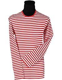 Thetru Ringel-Shirt Kurzarm Oder Langarm, Gr. XS - XXXL Gestreift,, z.B.  Rot Weiss… a66eb59a1b