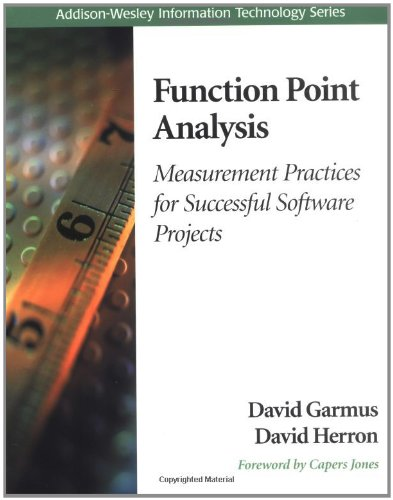 Function Point Analysis:Measurement Practices for Successful Software Projects (Information Technology)