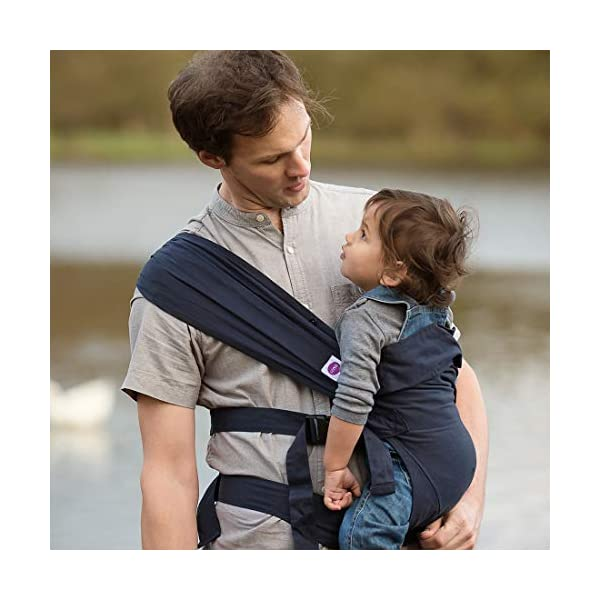 Izmi Baby Carrier (3.2kg-15kg), New Born Carrier, Multiple Carrying Positions, Midnight Blue Izmi Use from birth (3.2kg-15kg), new born cushion inserts included with carrier 4 carrying positions: front carry, outward facing carry, hip carry or back carry Adjustable seat width enables the Izmi Baby Carrier to adapt as your little one grows 7