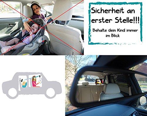 Spiegel Baby Auto : Xxl set rücksitzspiegel für babys und kinder auto baby spiegel