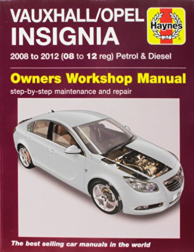 Vauxhall/Opel Insignia Owners Workshop Manual por Haynes Publishing