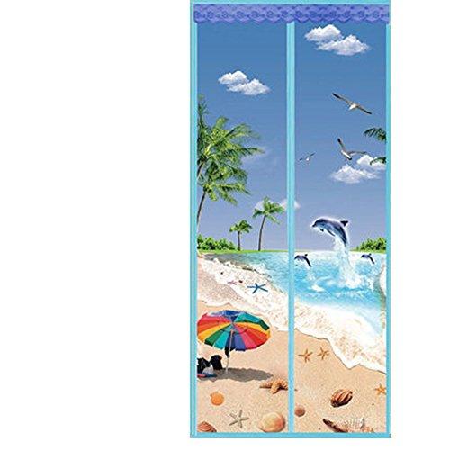 OHmais Magneten Vorhang Magnet Magnetverschluss Verschluss Türvorhang Magnetic Moskito Netz verfügbar Passend Türen