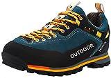 Weweya Herren Wanderschuhe High Top Trekking-Schuhe Rutschfeste Atmungsaktive Wanderschuhe Trekking-Sneaker