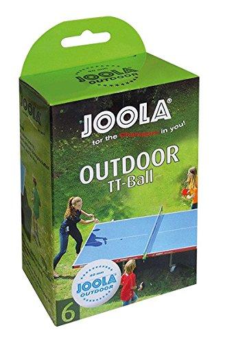 Joola TT-Ball Outdoor, Weiß, 40 mm, 42181