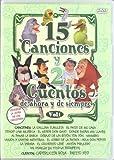 15 Canciones Y 2 Cuentos De Siempre - Volumen 1 [DVD]