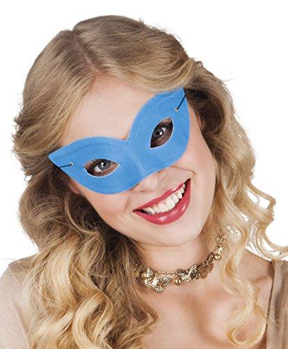 Halloweenia - Damen Kostümzubehör: Basic Augen-Maske, Butterfly, ()