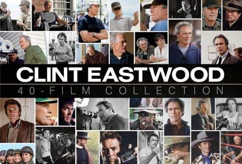 Clint Eastwood 40-Film Special Collection 24-Disc Gift Box Set