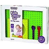 placematix Interlocking Kids Gift Box Set, Yellow/Red/Purple
