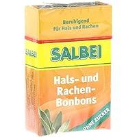 Salbei Hals- Hustenbonbons ohne Zucker, 40 g preisvergleich bei billige-tabletten.eu